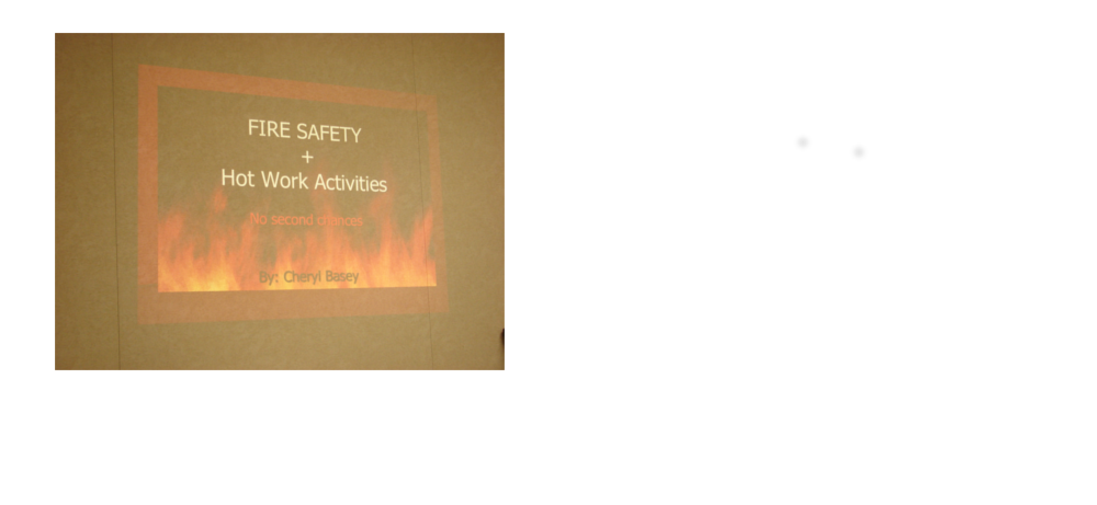 Fire Extinguisher and Hot Work activities training